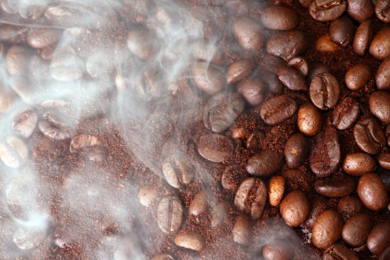 Free Stock Photo of Coffee Beans and Aroma