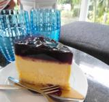 Free Photo - Cheesecake and Water