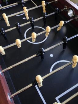Fussball table players - Free Stock Photo