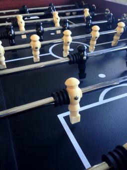 Fussball table players close up - Free Stock Photo