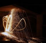 Free Photo - Light painting