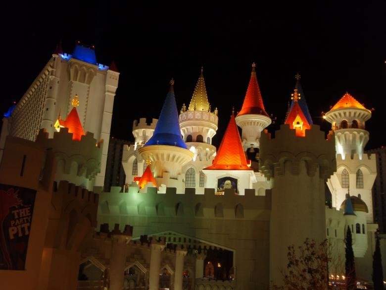 Free stock image of Castle in Las Vegas created by Wady Galfskiy