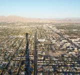 Free Photo - Las Vegas from above