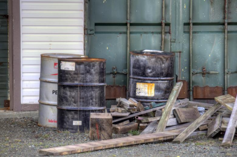 Free Stock Photo of Oil Drums Created by Geoffrey Whiteway