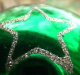 Free Photo - Green Star Christmas Ornament