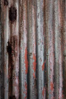 Corrugated Metal Texture - Free Stock Photo