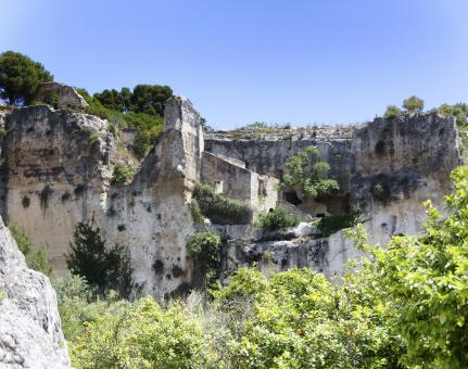 Caves in Neapolis - Free Stock Photo