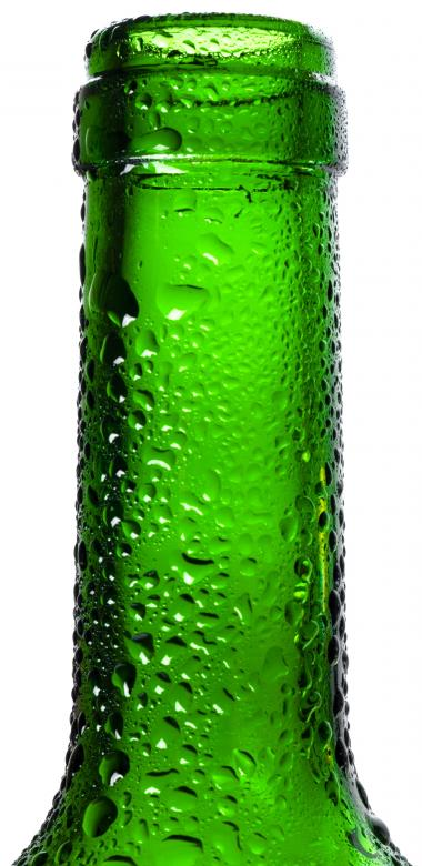Free stock image of Dew on Green Bottle created by 2happy