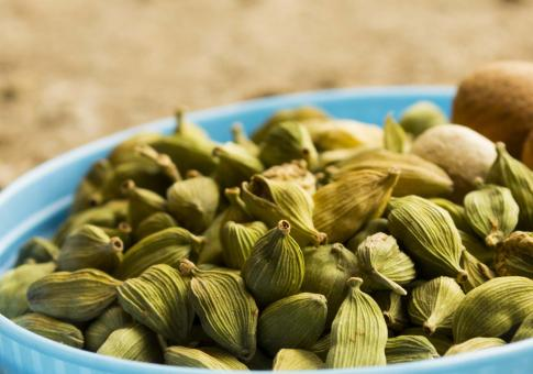 Green cardamom - Free Stock Photo