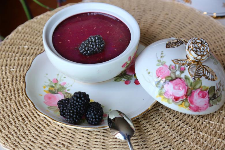 Blackberry Pudding - Free Stock Photos of Food