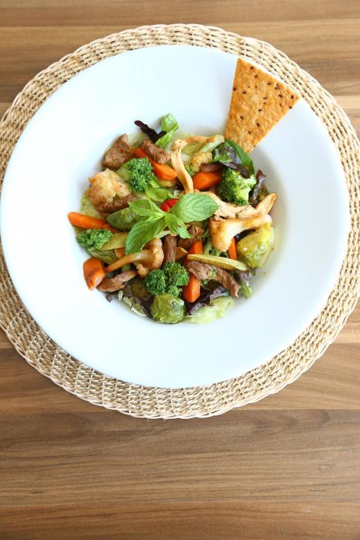Plate Salad | Free Food Stock Photos