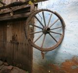 Free Photo - Old Door Wheel