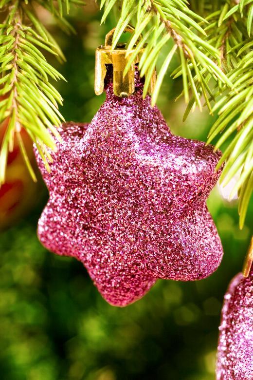 Purple Christmas Decoration - Free Christmas Stock Photos