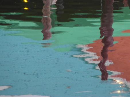 Colorful Abstract Harbor Reflection - Free Stock Photo