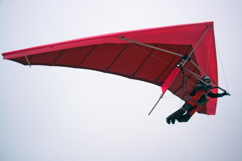 Free Stock Photo of Hang glider Created by 2happy