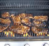 Free Photo - Spicy Pork Chops on Grill 1