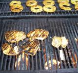 Free Photo - Teryaki Chicken on Grill