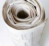 Free Photo - Rolled up Newspaper