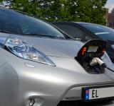 Free Photo - Charging Nissan Leaf
