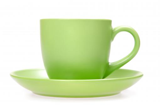 Green cup - Free Stock Photo