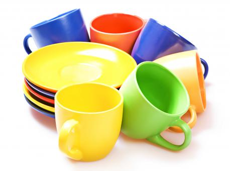Color cups - Free Stock Photo