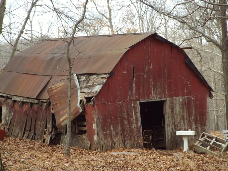 Free Stock Photo of Old Barn Created by Charles Ray