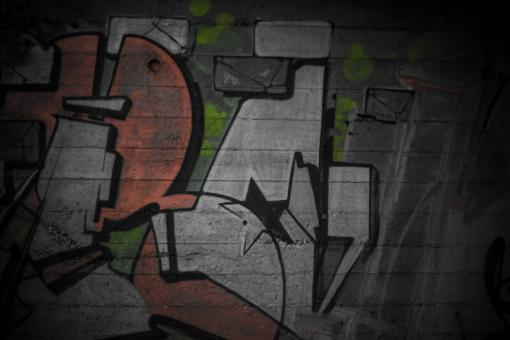 Graffiti Wall Texture - Free Stock Photo