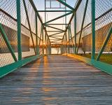 Free Photo - Casino Island Sunset Bridge - HDR