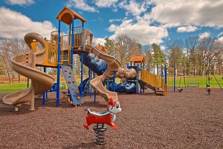 Wellesley Island Playground - HDR Free Stock Photo