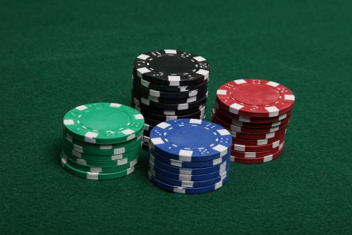 Stacks of poker chips - Free Stock Photo