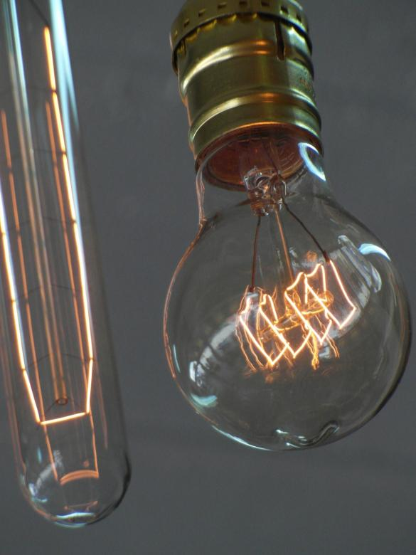 Free Stock Photo of Edison Light Bulbs Created by Ivan