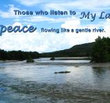 Free Photo - Peace Like a River