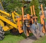 Free Photo - Tree transplant machinery