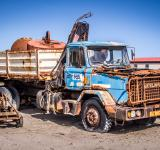 Free Photo - Old rustic truck in ghosttown