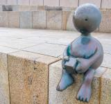 Free Photo - lonely statue child