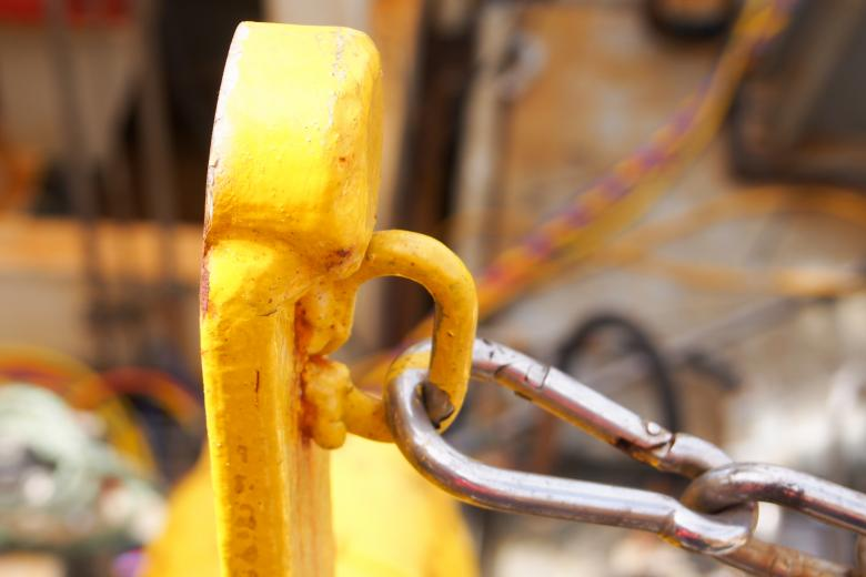 Free Stock Photo of Close up of construction hook Created by Merelize