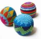 Free Photo - Three multi-colored juggling balls