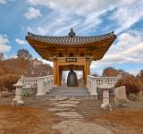 Free Photo - Korean Bell Garden - Sepia HDR