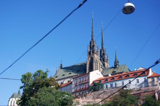Cathedral in Brno - Free Stock Photo