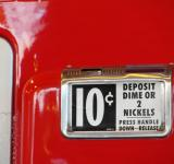 Free Photo - Vintage Red Vending Machine