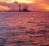 Free Photo - Oil Terminal at Sunset