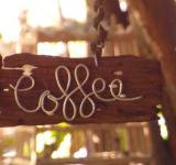 Free Photo - Wooden Coffee Sign