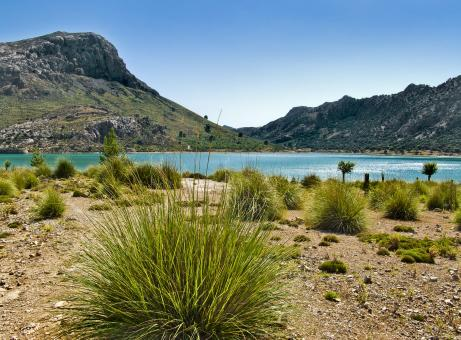 Mountain lake in Mallorca - Free Stock Photo