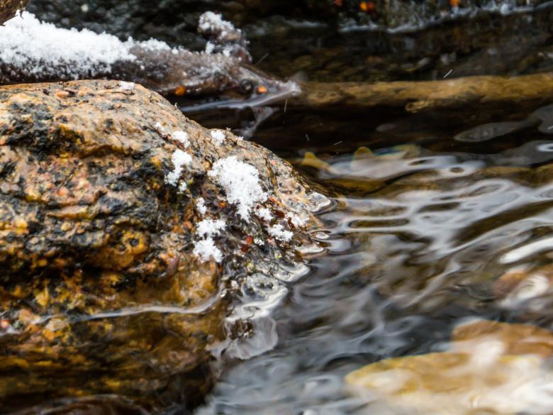 Free stock image of Icy stones created by Janis Urtans