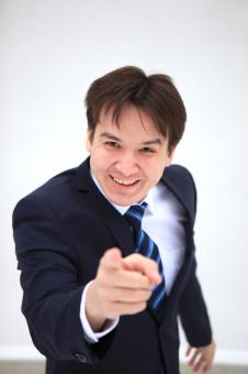 business man points at you - Free Stock Photo