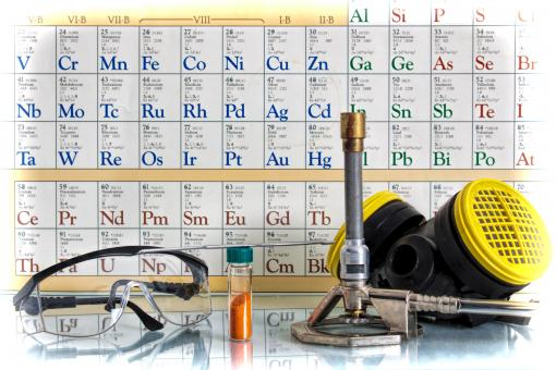 Chemical Science with Safety Glasses - Free Stock Photo