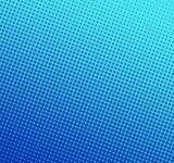 Free Photo - Blue halftone dots background
