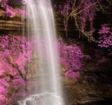 Free Photo - Pink Glencar Falls - HDR