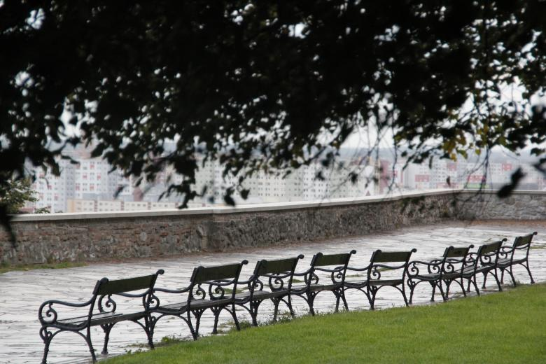 Free Stock Photo of Benches in park Created by 2happy