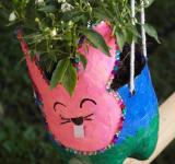 Free Photo - Recycled Bottles Craft Plant Pot
